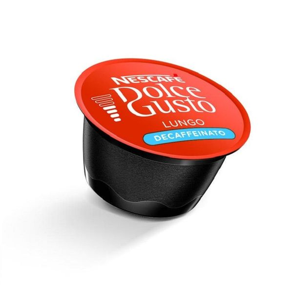 کپسول قهوه دولچه گوستو مدل لانگو بدون کافئین Lungo Decaffeinato