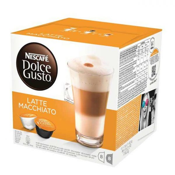 کپسول قهوه دولچه گوستو مدل لاته ماکیاتو Latte Macchiato