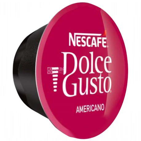 کپسول قهوه دولچه گوستو مدل آمریکانو Americano